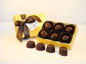 Creek House 6 Piece Organic Vegan Chocolate Truffles, DebutII
